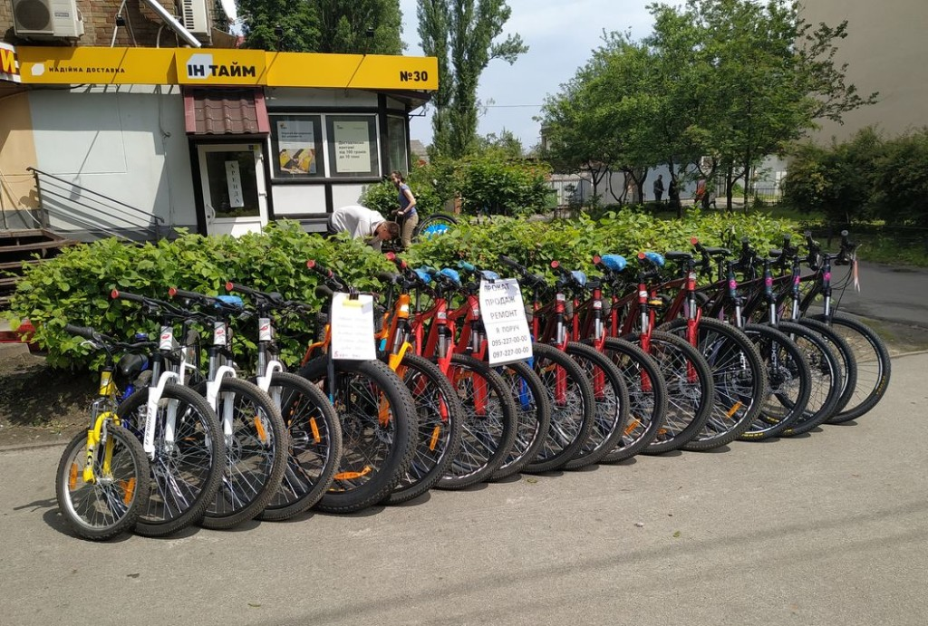 Велосипеды напрокат Нивки