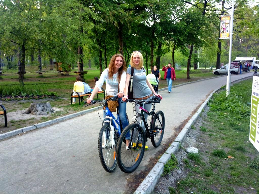велопрока в парке партизанкской славы