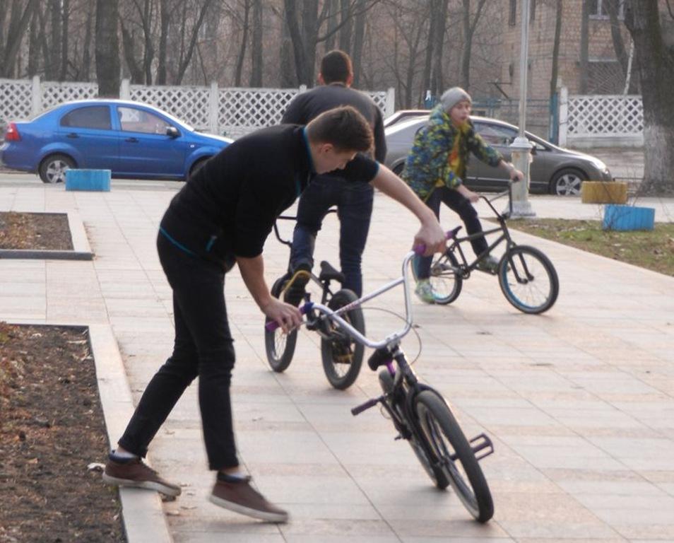 Как из велосипеда сделать bmx