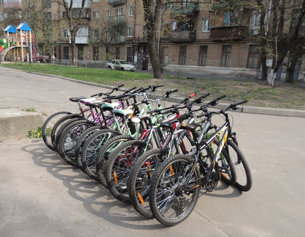 Прокат велосипедов Голосеево
