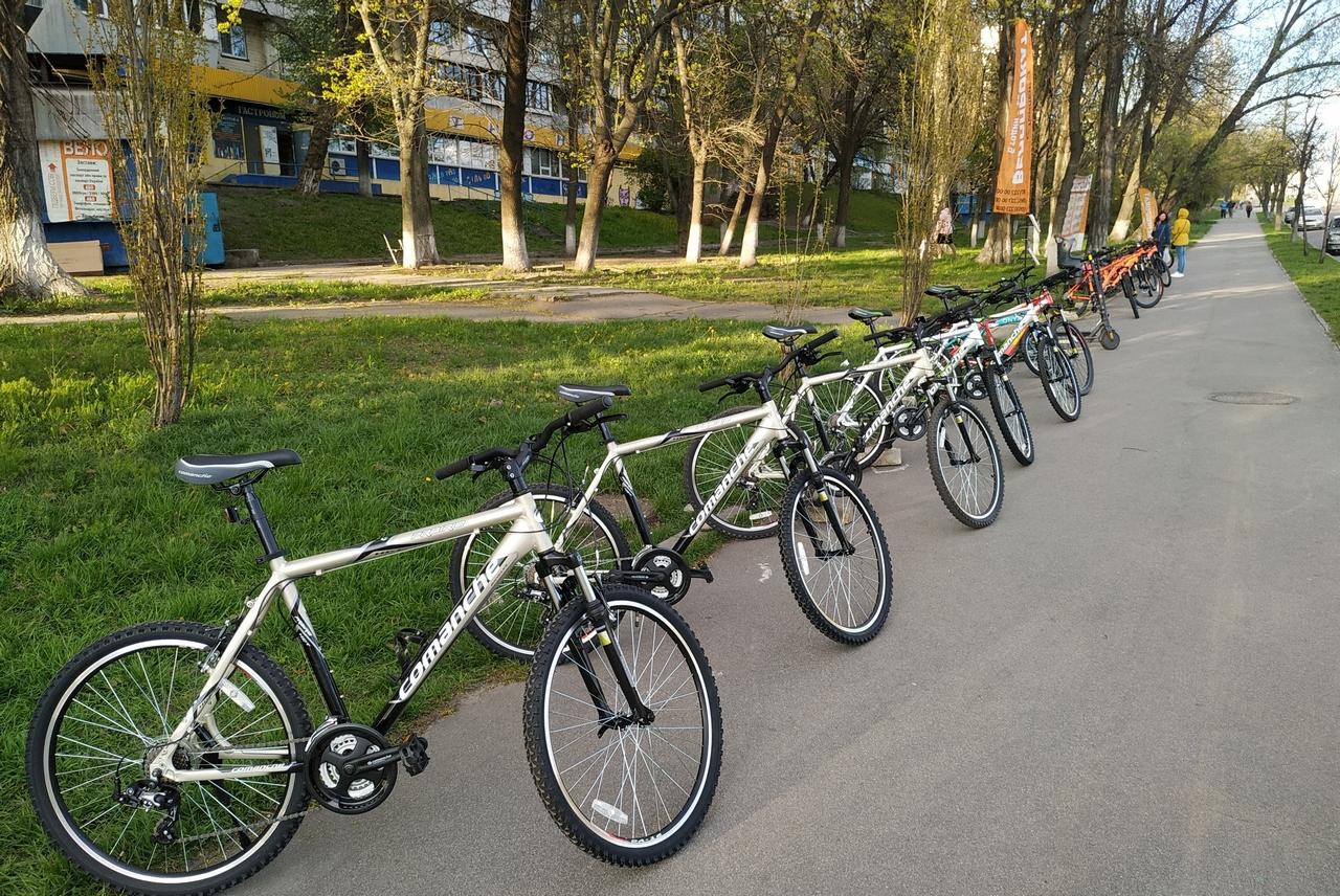 Прокат велосипедов Академгородок